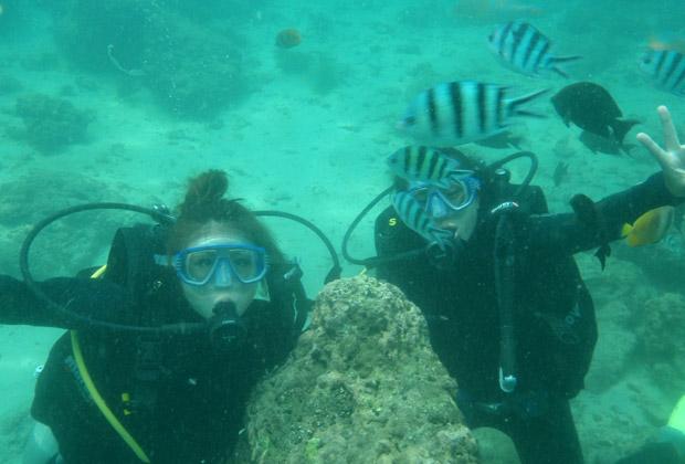 バリコーラル社 体験ダイビング